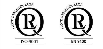 Certification ISO 9001 - EN 9100